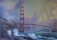Thomas Kinkade Golden Gate